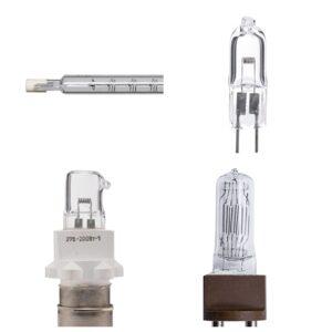 Лампы накаливания кварцево-галогенные