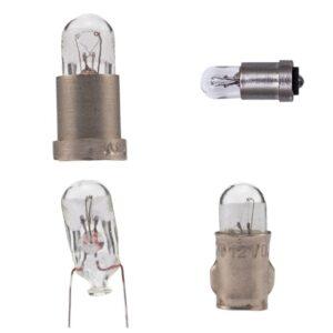 Лампы накаливания миниатюрные самолетные