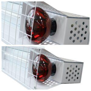 Светильники-облучатели обогревательные типа СЭС серии WarmLight