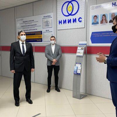 НИИИС имени А.Н. Лодыгина посетил Генеральный консул Республики Туркменистан