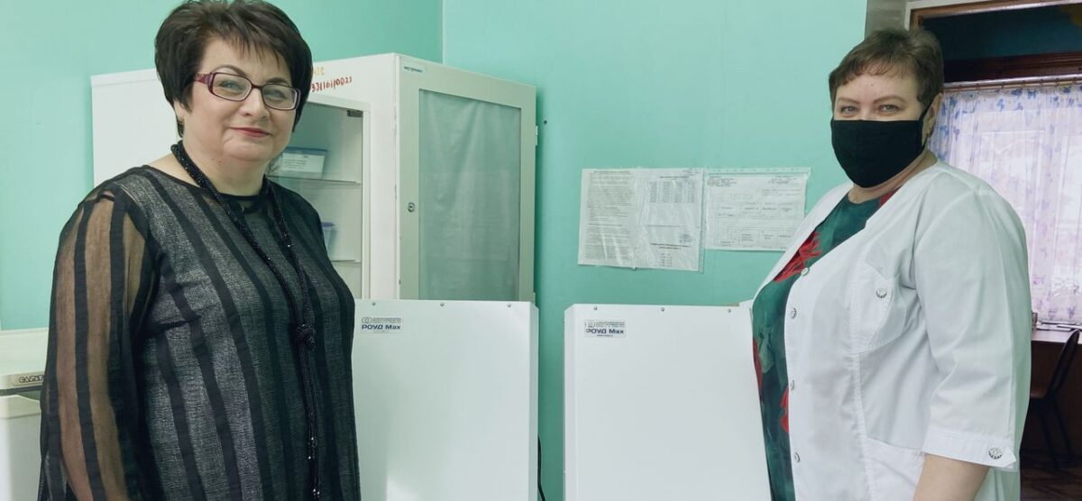 НИИИС имени А.Н. Лодыгина подарил бактерицидные облучатели Социально-реабилитационному центру для несовершеннолетних «Солнышко»