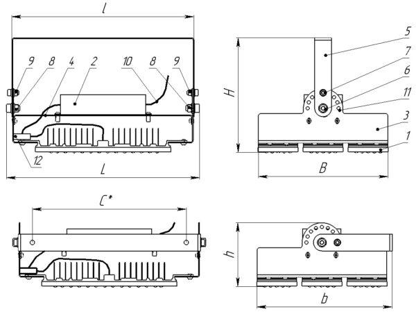 ДСП01-150-002 IndustryLight