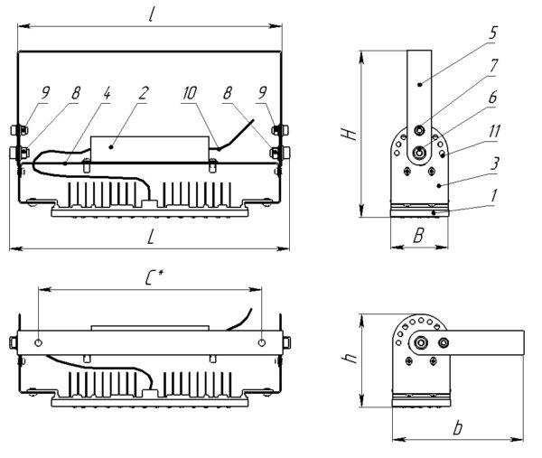 ДСП01-50-002 IndustryLight